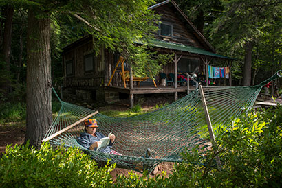 Photo of person in hammock. Link to Gifts of Appreciated Securities